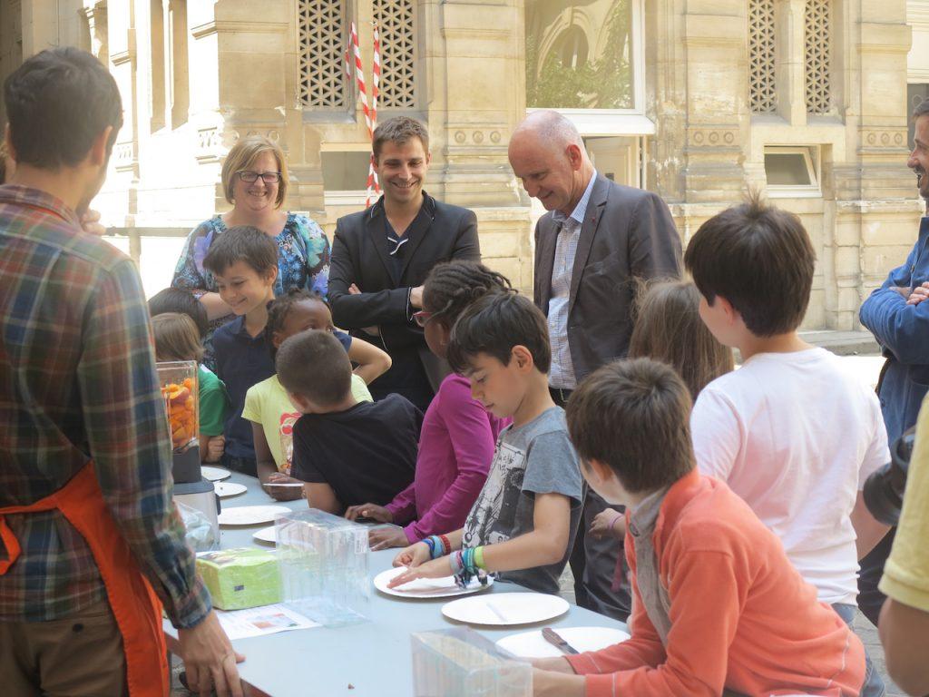 Christophe Girard, Caisse des école de Paris 4ème