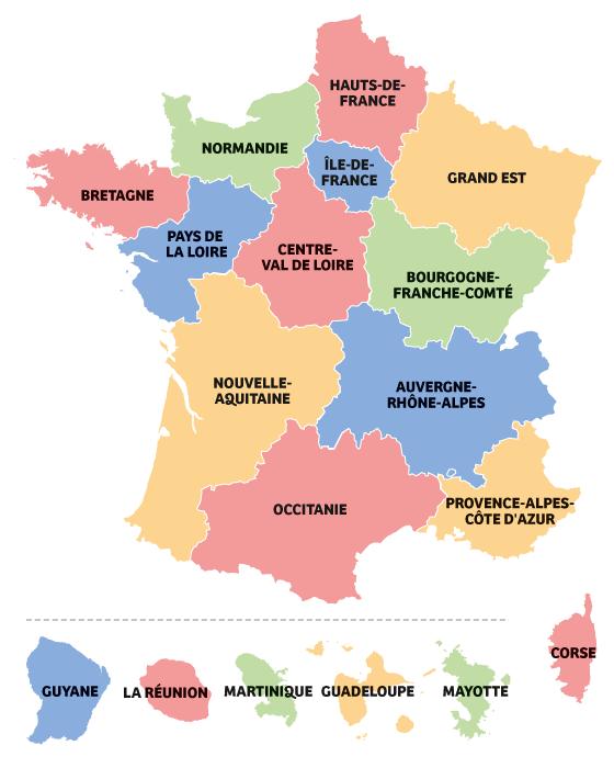 Carte France Regions 2016 Cle06f121 Caisse Des Ecoles Paris 4e